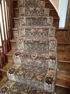 NJ sales of stair runner carpet and rods